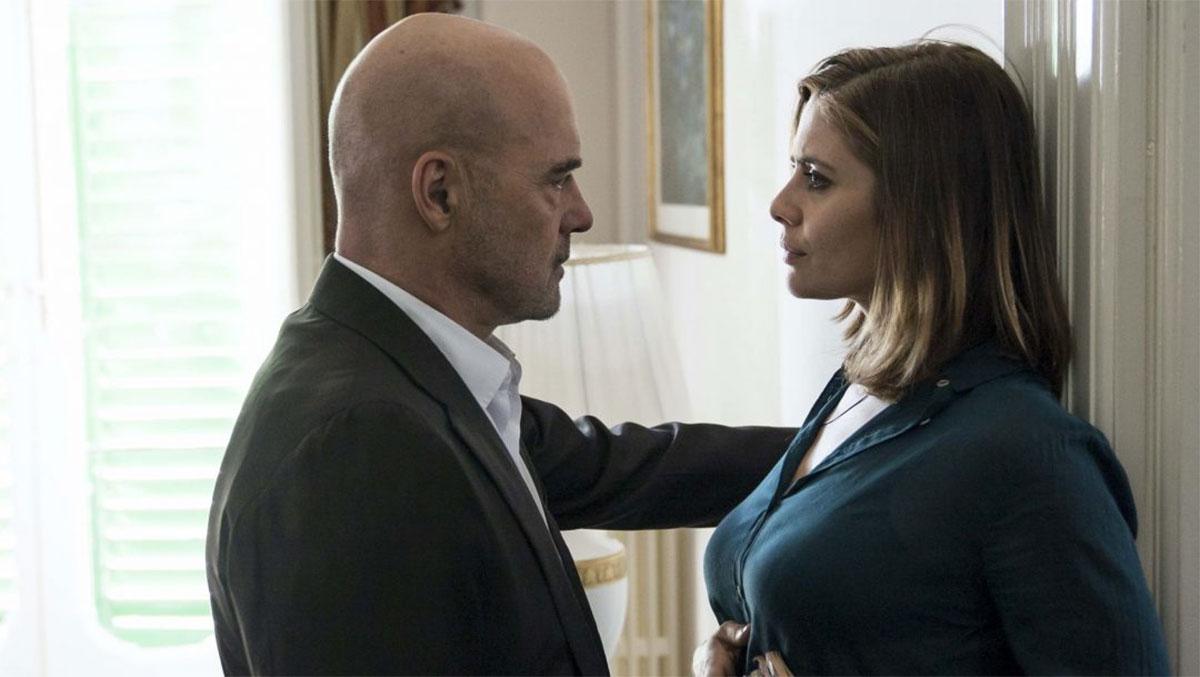 Luca Zingaretti e Greta Scarano