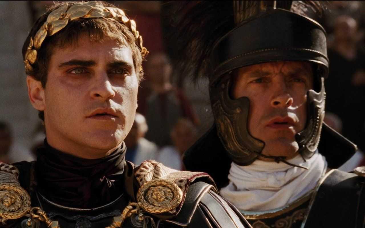 Joaquin Phoenix ne Il Gladiatore
