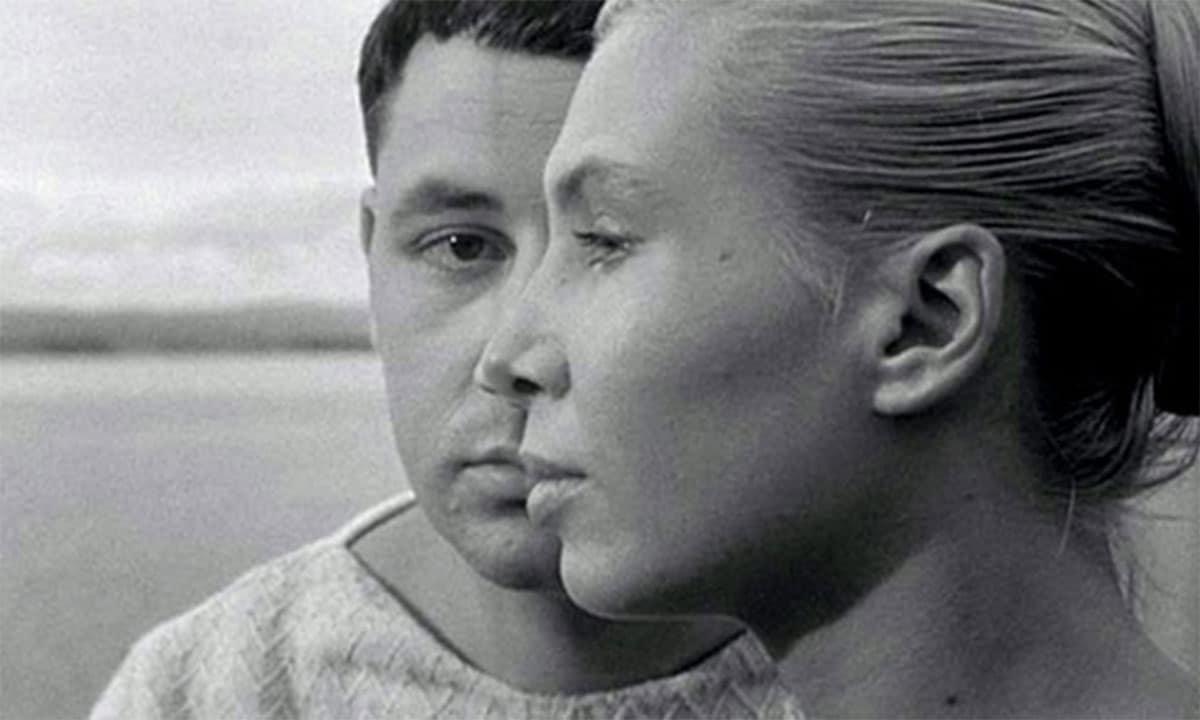 Philippe Noiret e Silvia Monfort in La Pointe Courte