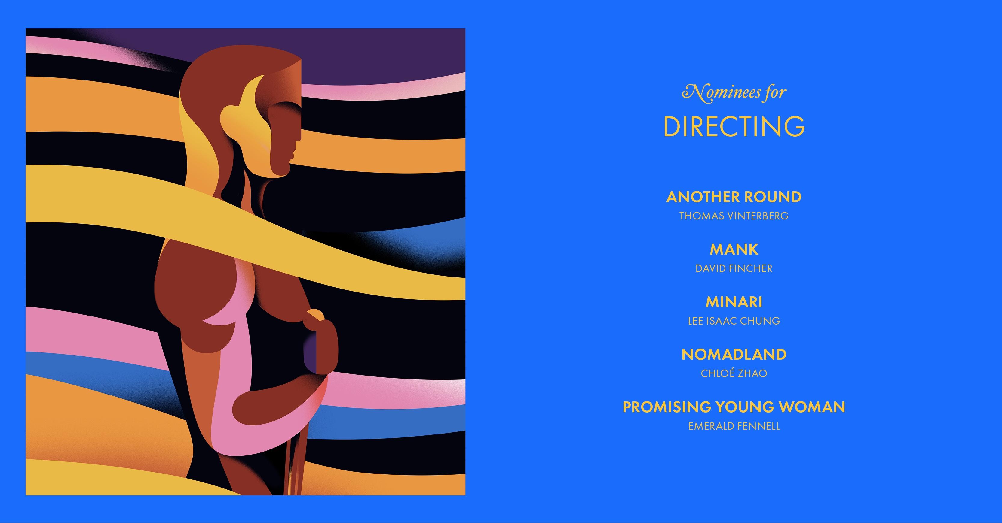 Oscar nomination 2021: i candidati a miglior regista