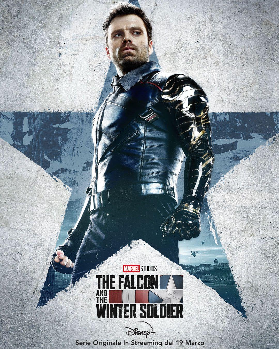 Sebastian Stan è The Winter Soldier