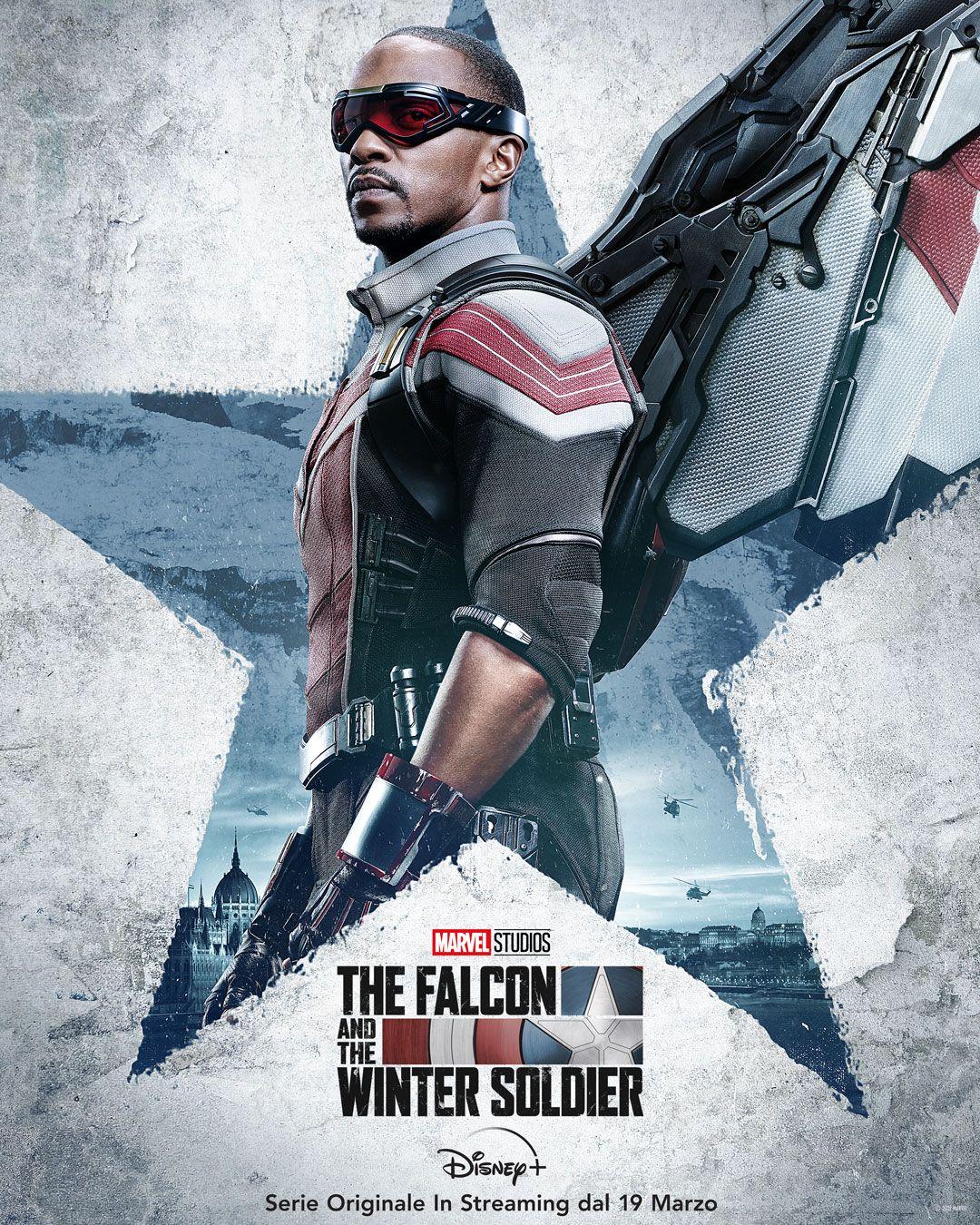Anthony Mackie è The Falcon