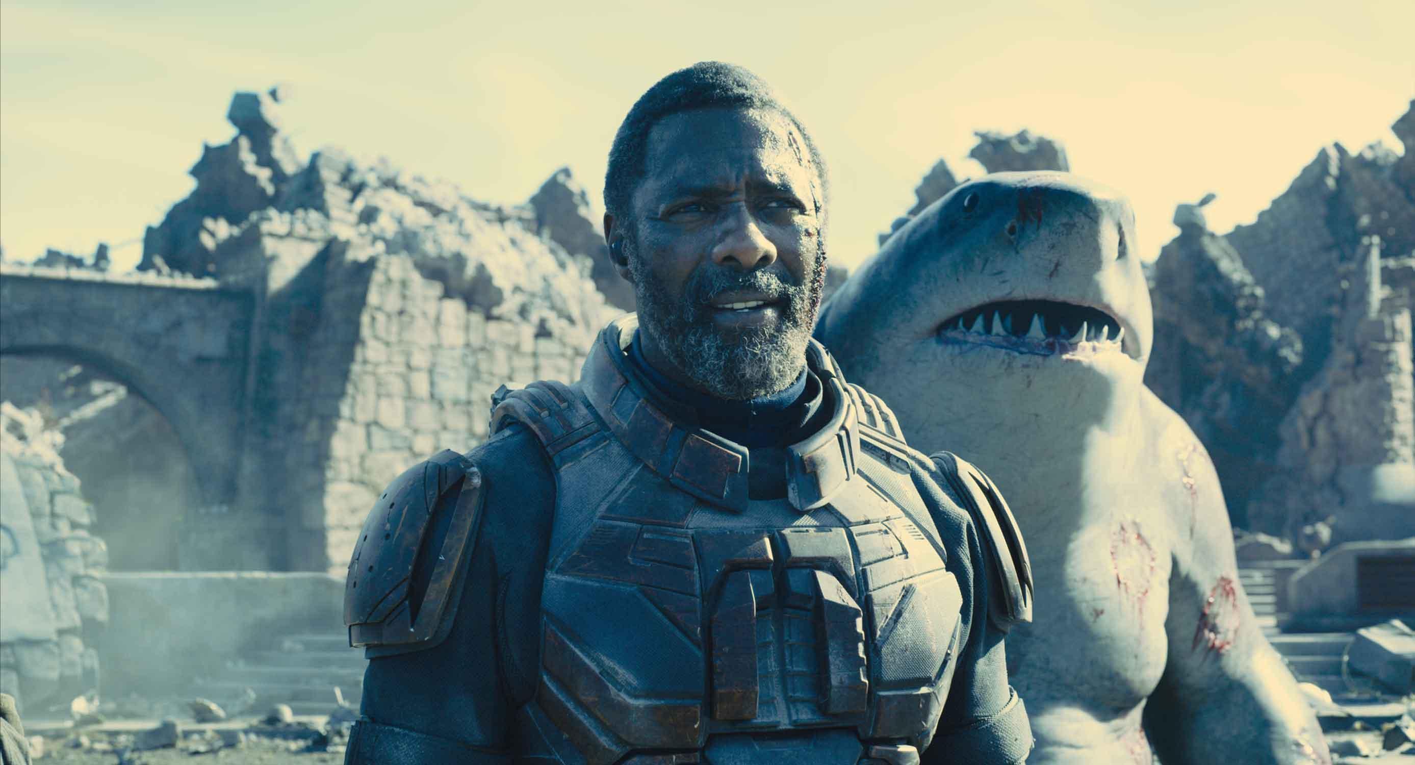 Idris Elba è Bloodsport, insieme a King Shark