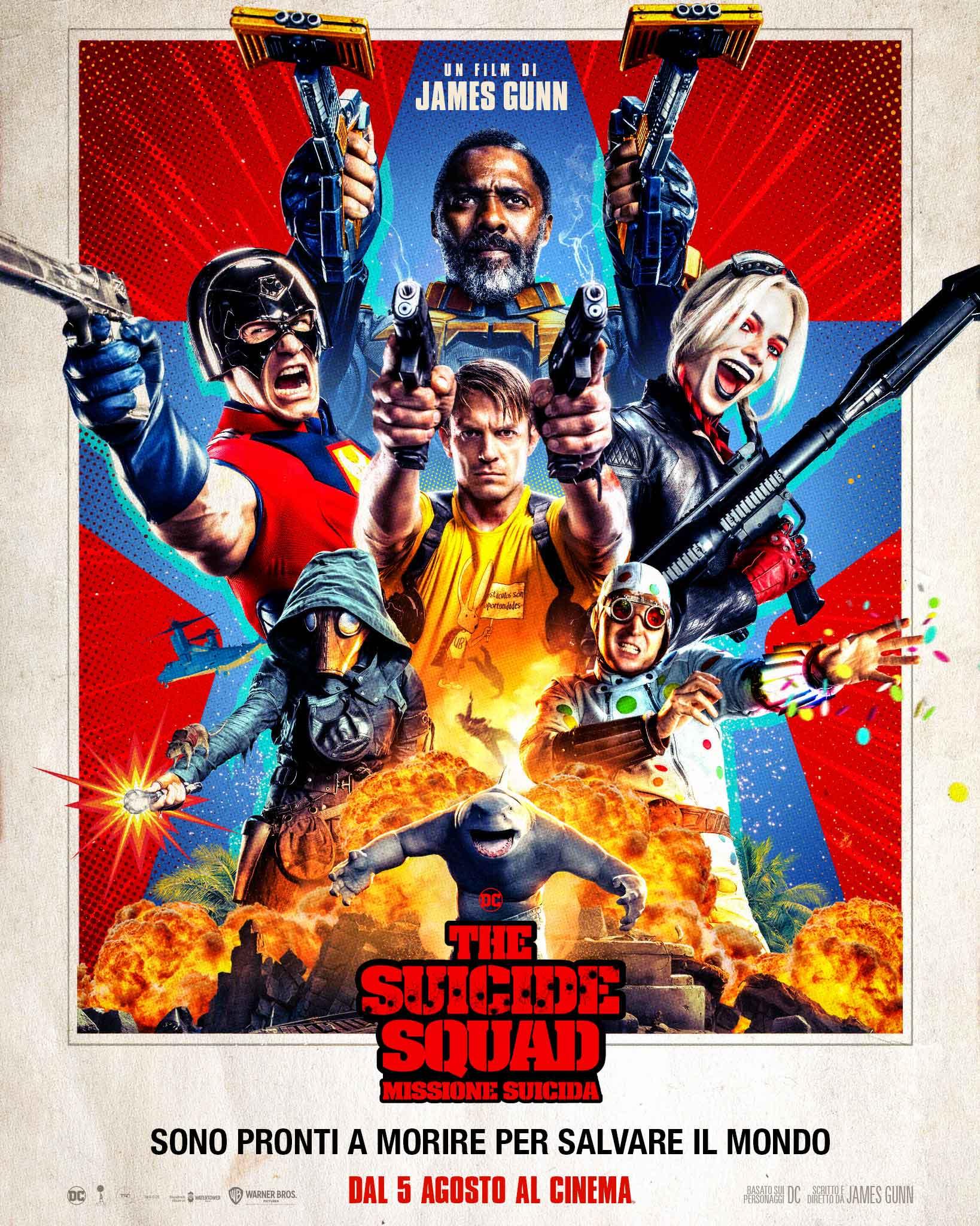 The Suicide Squad - Missione Suicida: il poster italiano