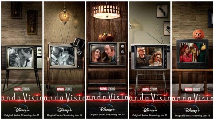Alcune delle immagini promozionali di WandaVision
