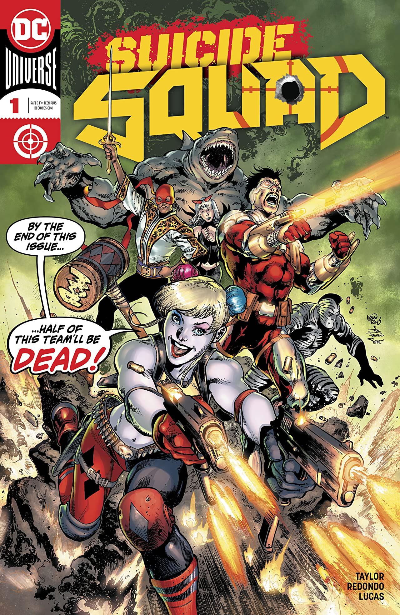 Il nuovo numero 1 di Suicide Squad di Tom Taylor