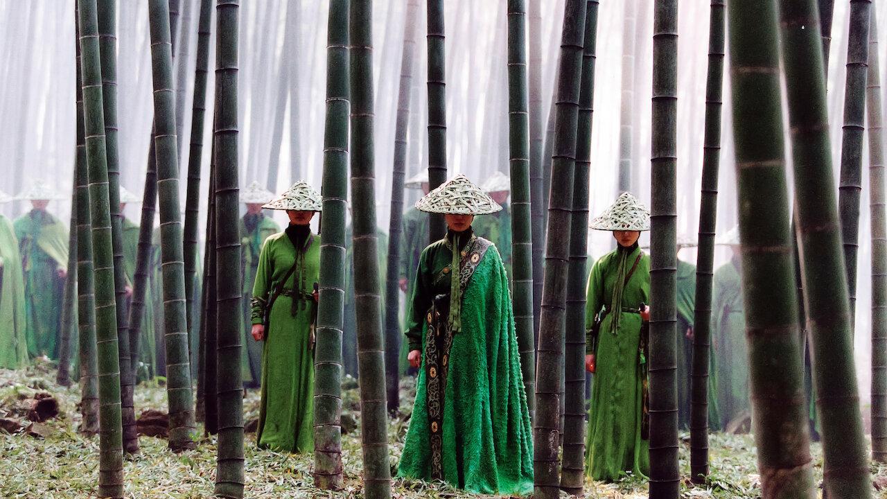 Una scena dal film di Zhang Yimou