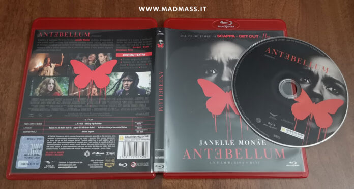 Antebellum Blu-ray recensione home video unboxing