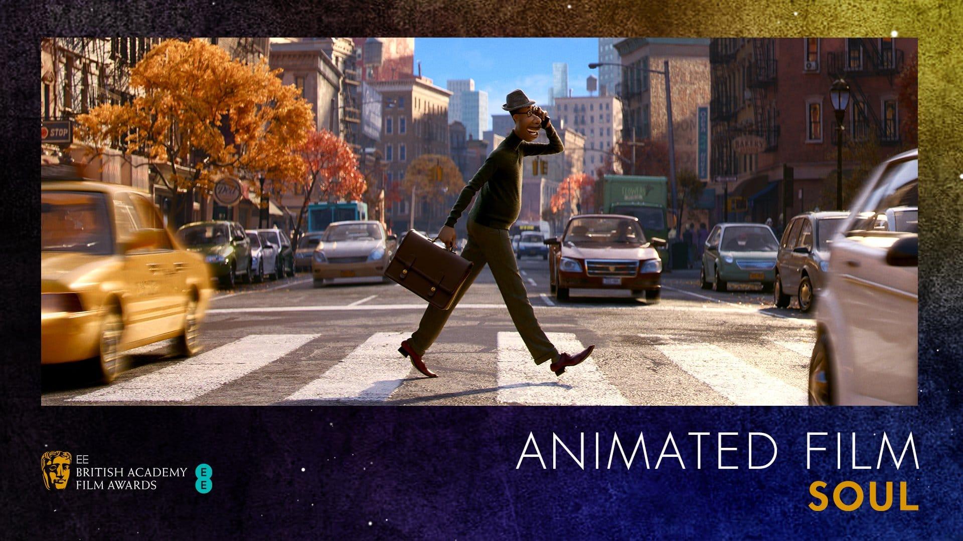 Soul vince il BAFTA al miglior film d'animazione