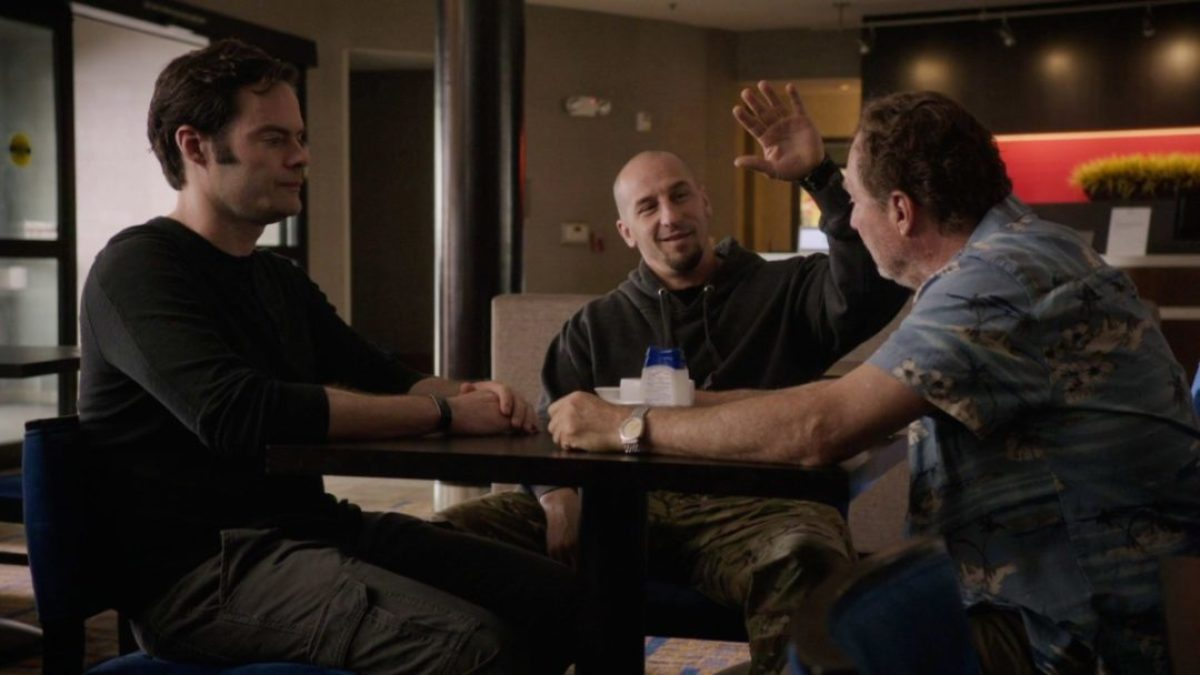 Barry recensione prima stagione serie TV Sky con Bill Hader