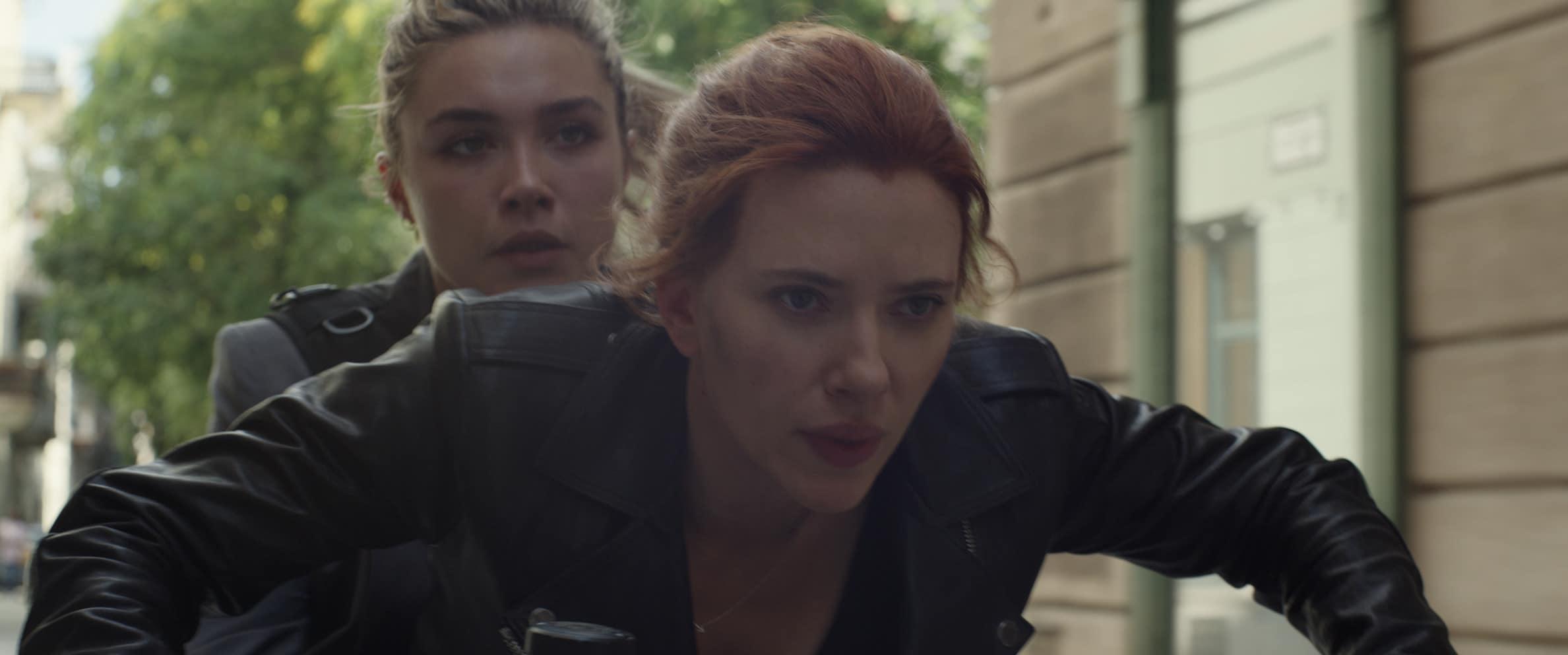 Black Widow: Scarlett Johansson e Florence Pugh