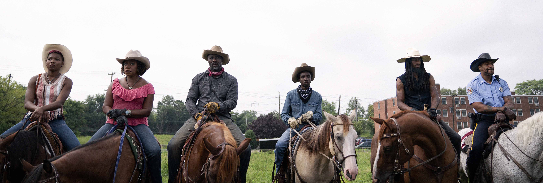 Concrete Cowboy recensione film Netflix di Ricky Staub con Idris Elba