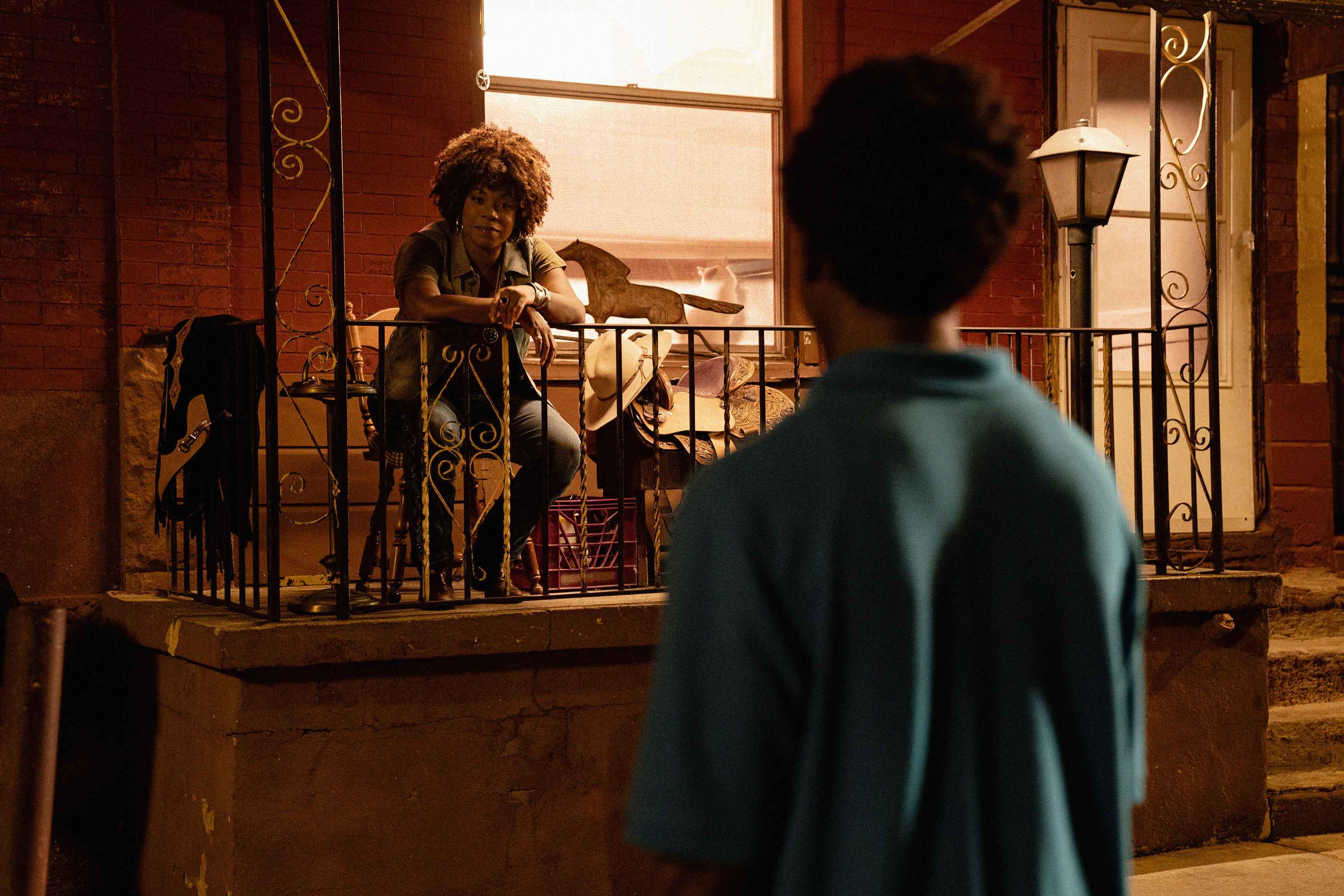 Lorraine Toussaint e Caleb McLaughlin