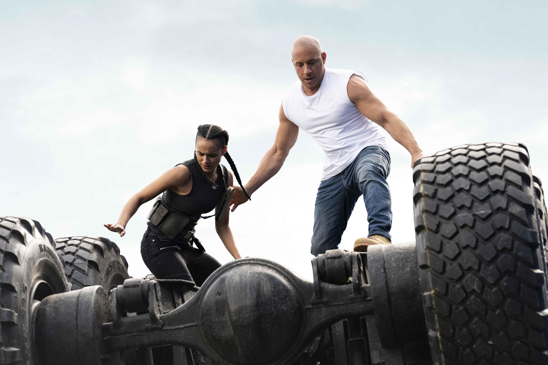 Nathalie Emmanuel e Vin Diesel