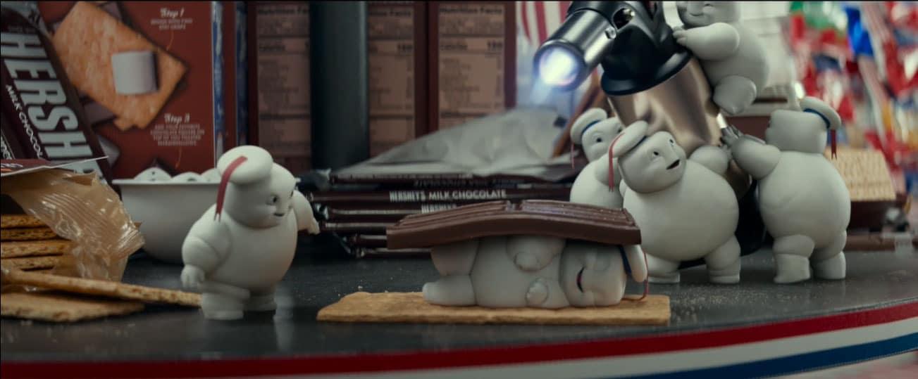Ghostbusters: Legacy: la prima clip Marshmallow Man