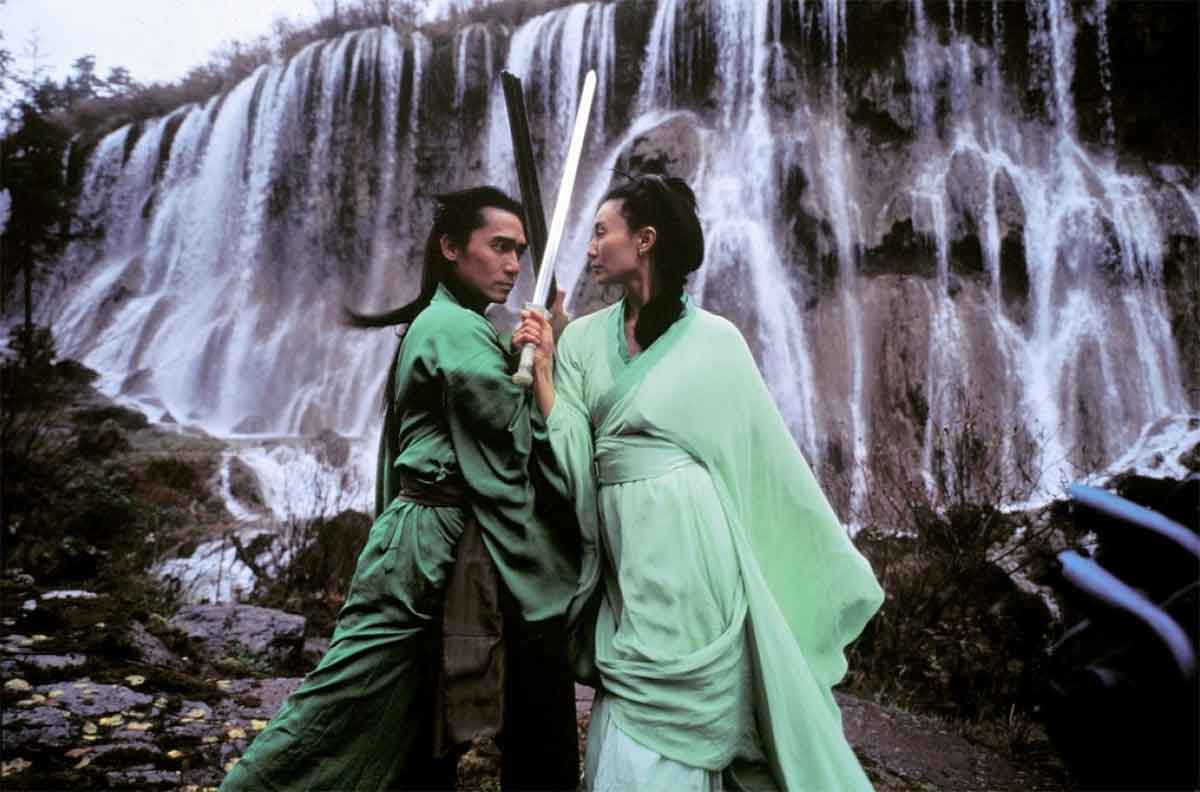 Tony Chiu-Wai Leung e Maggie Cheung