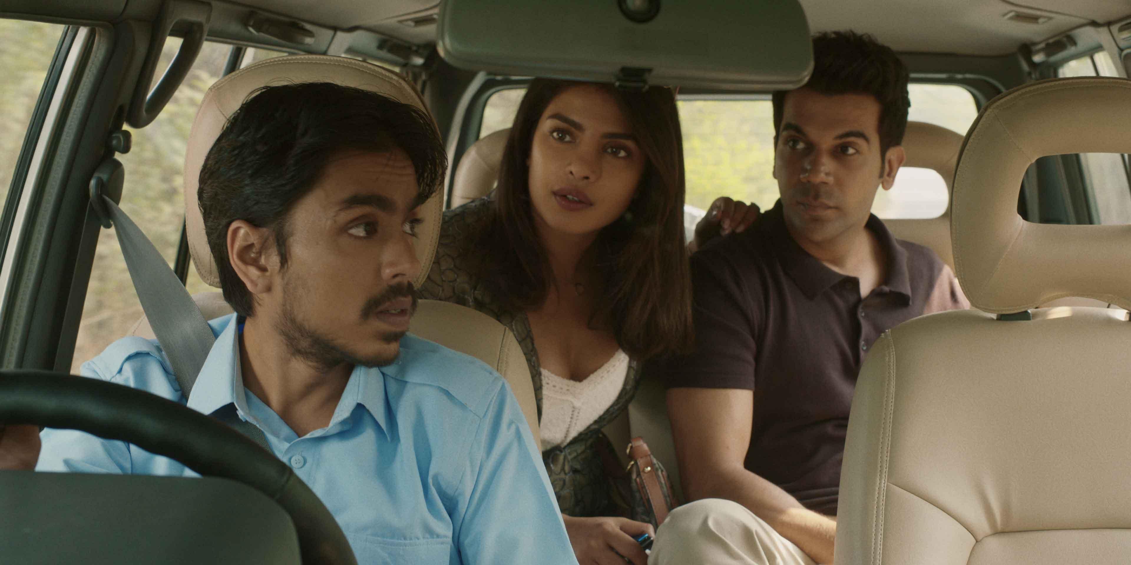 Adarsh Gourav, Rajkummar Rao e Priyanka Chopra