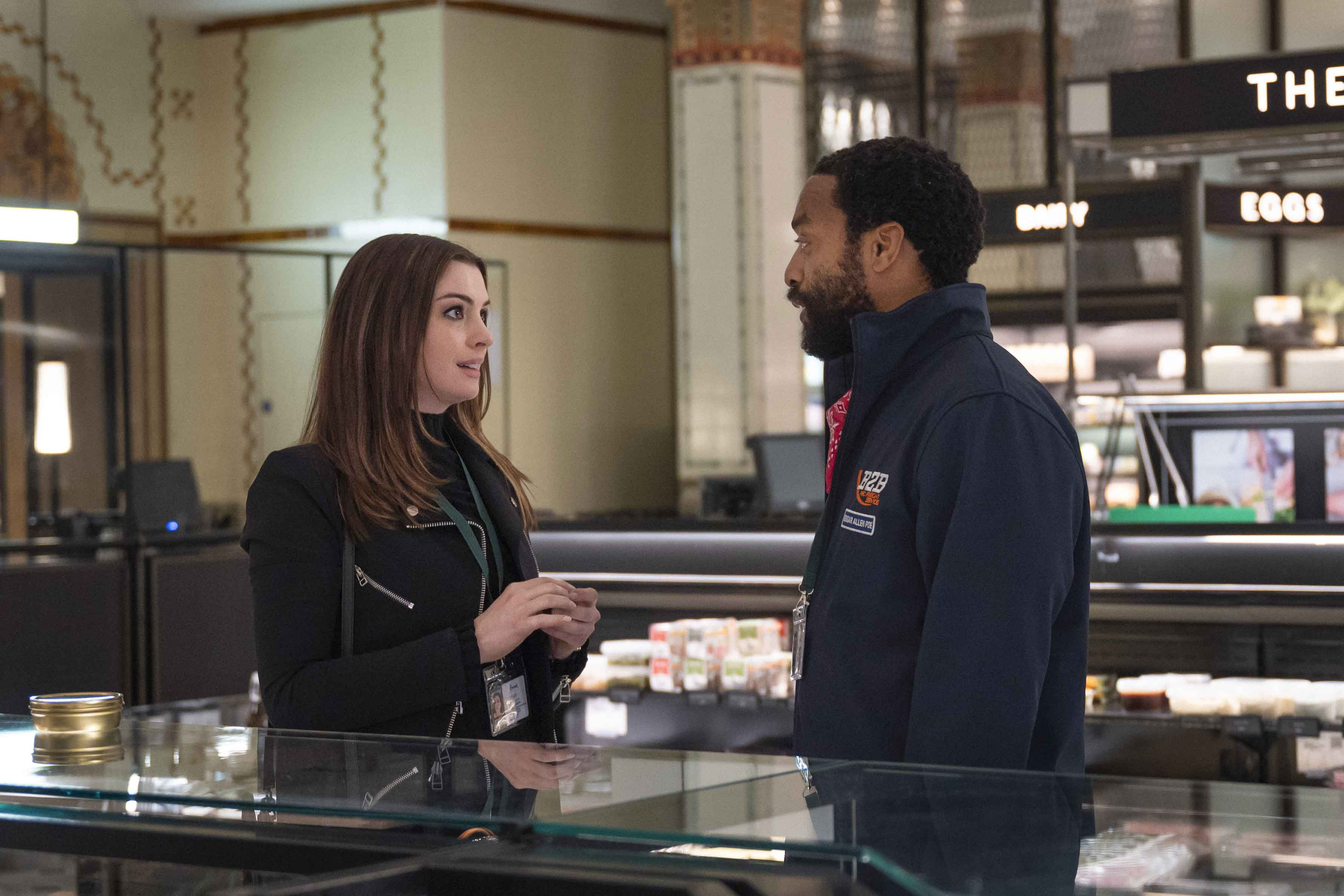 Anne Hathaway e Chiwetel Ejiofor