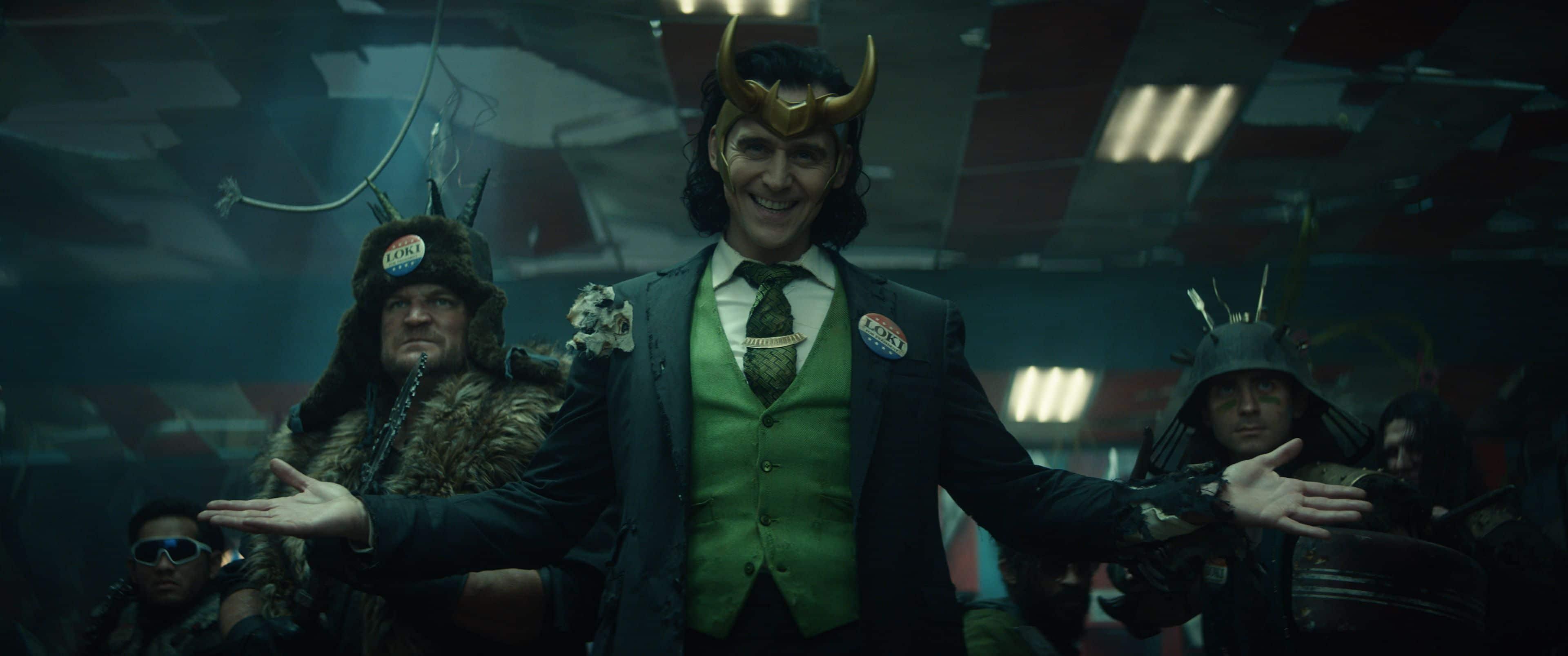 Loki si candida a Presidente degli Stati Uniti