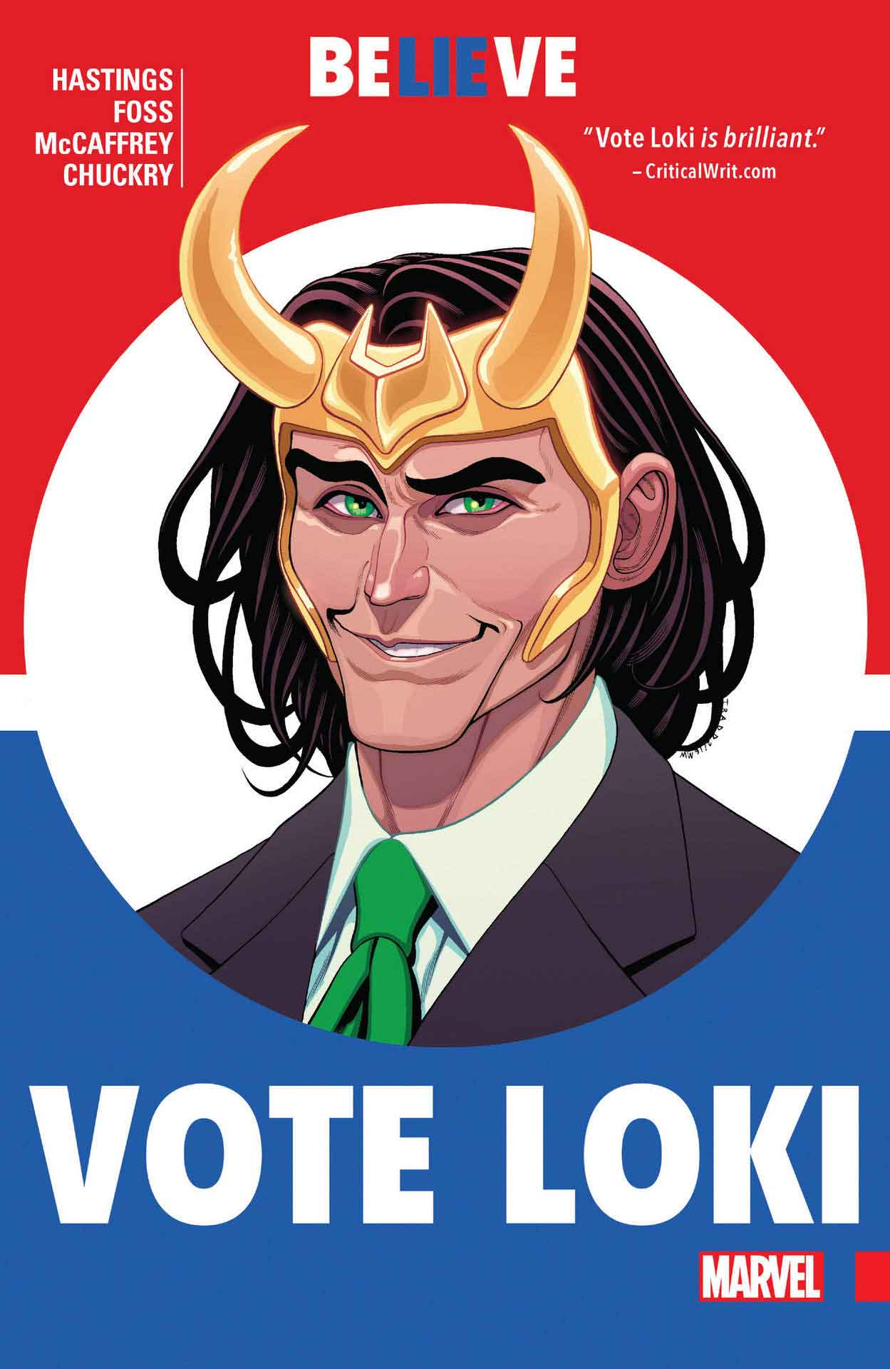 Vota Loki di Christopher Hastings e Israel Salva