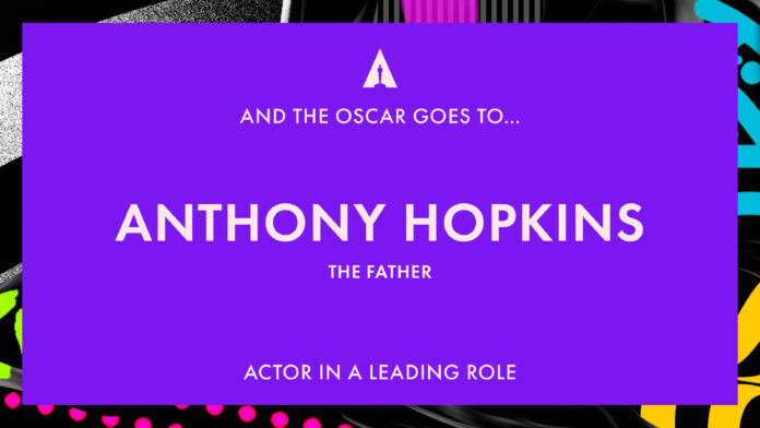 Oscar 2021: Anthony Hopkins migliore attore protagonista