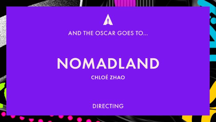 Oscar 2021: Chloé Zhao migliore regista