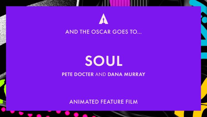 Oscar 2021: Soul miglior film d'animazione