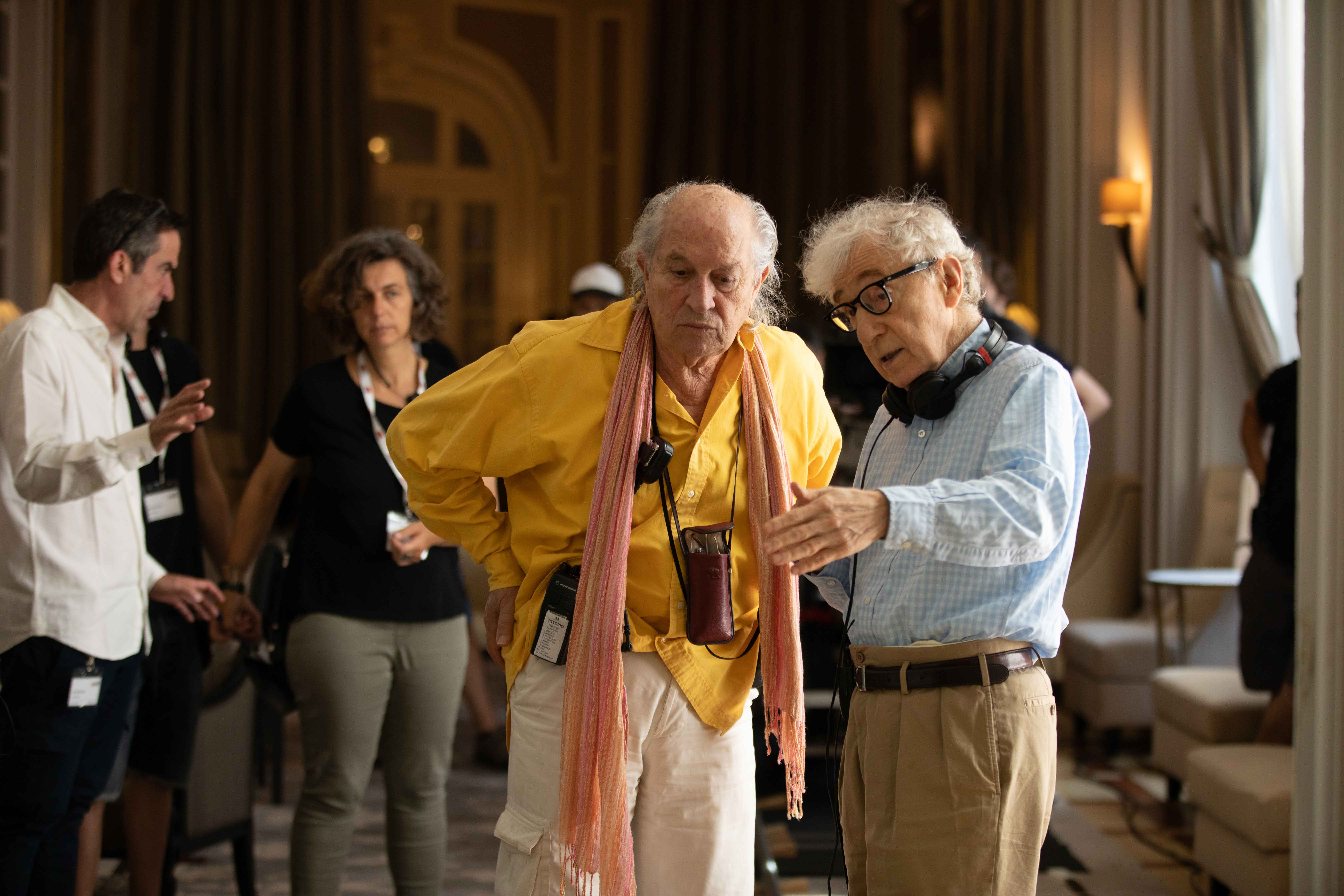 Vittorio Storaro e Woody Allen