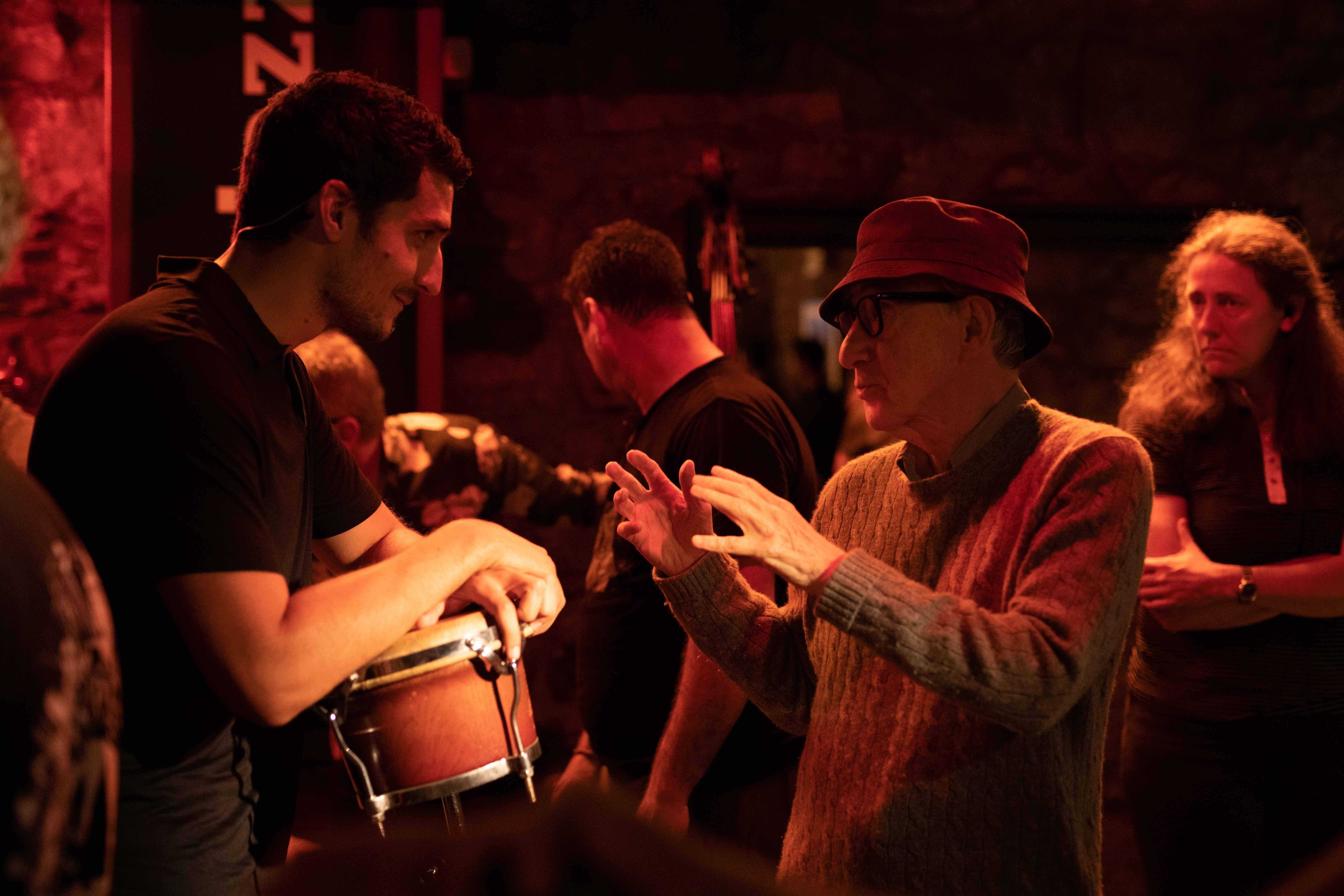 Louis Garrel e Woody Allen