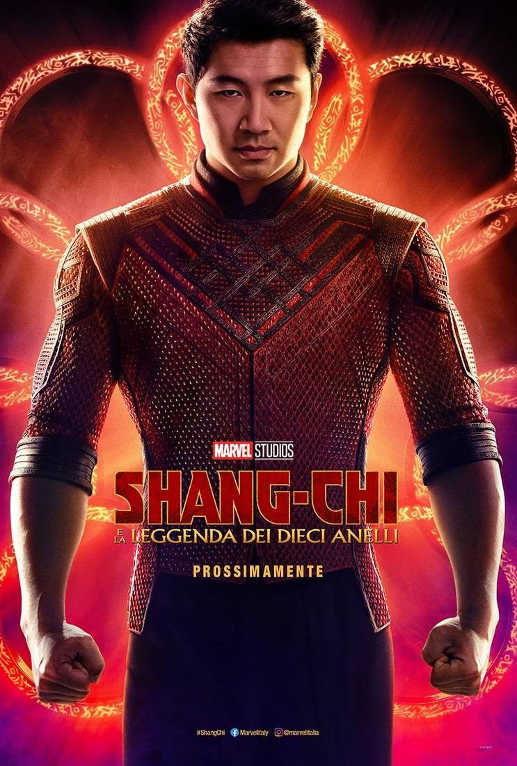 Shang-Chi e la leggenda dei Dieci Anelli: il poster