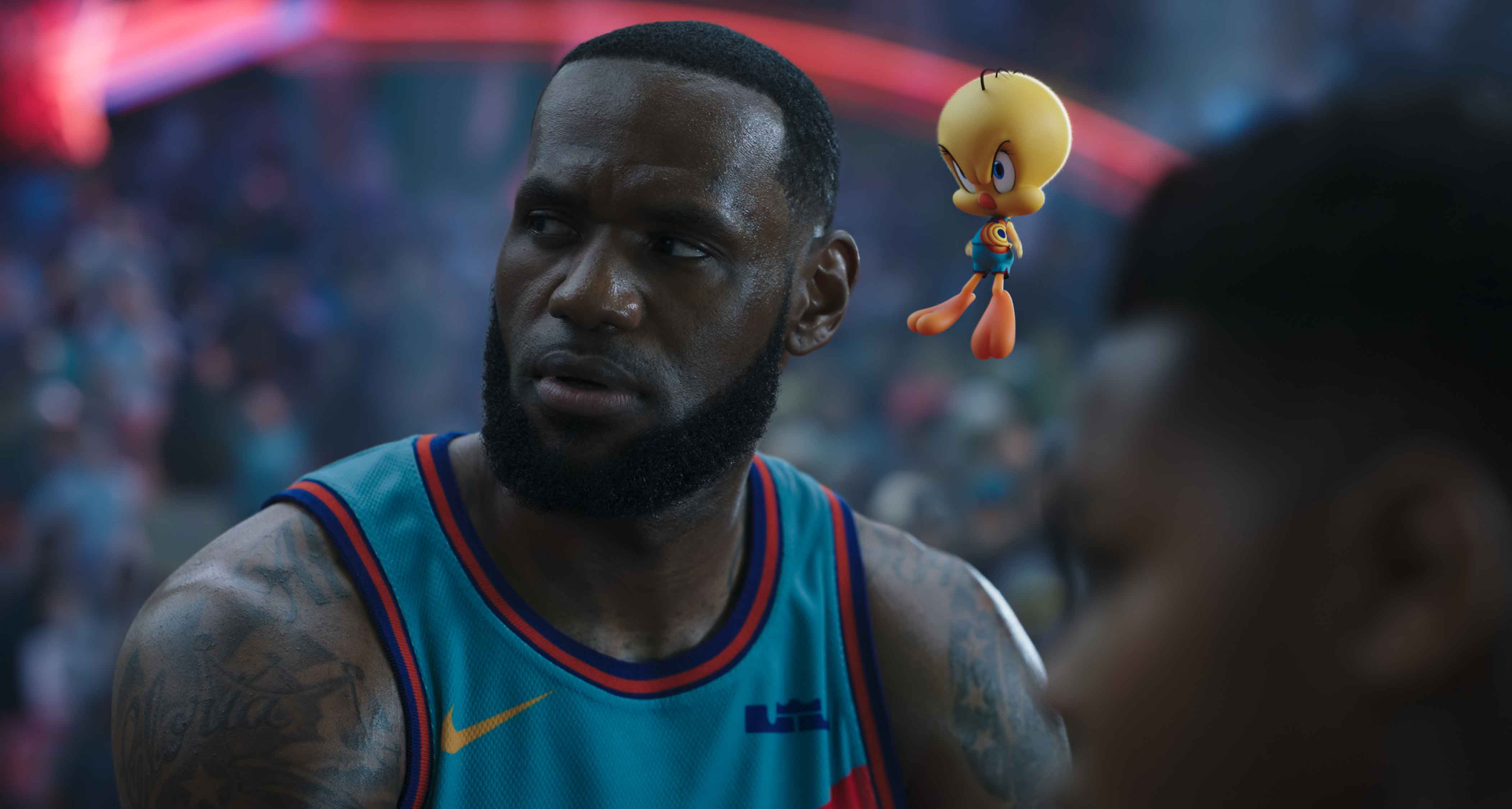 LeBron James in Space Jam: New Legends