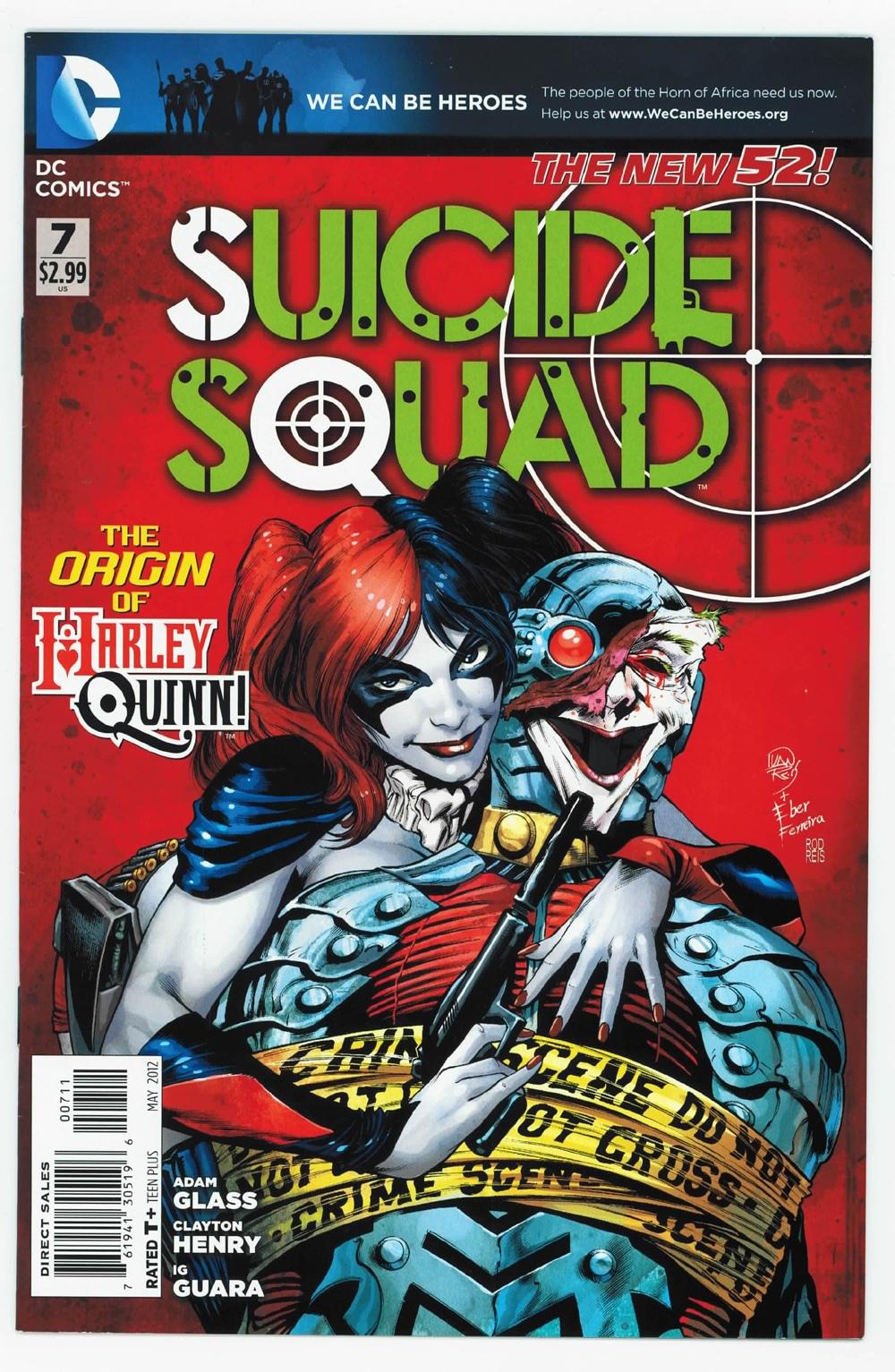 Adam Glass / Federico Dallocchio: Suicide Squad di The New 52