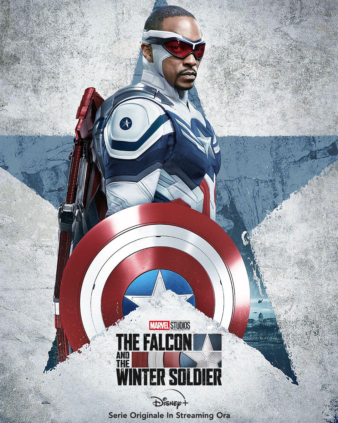 Il poster del nuovo Captain America