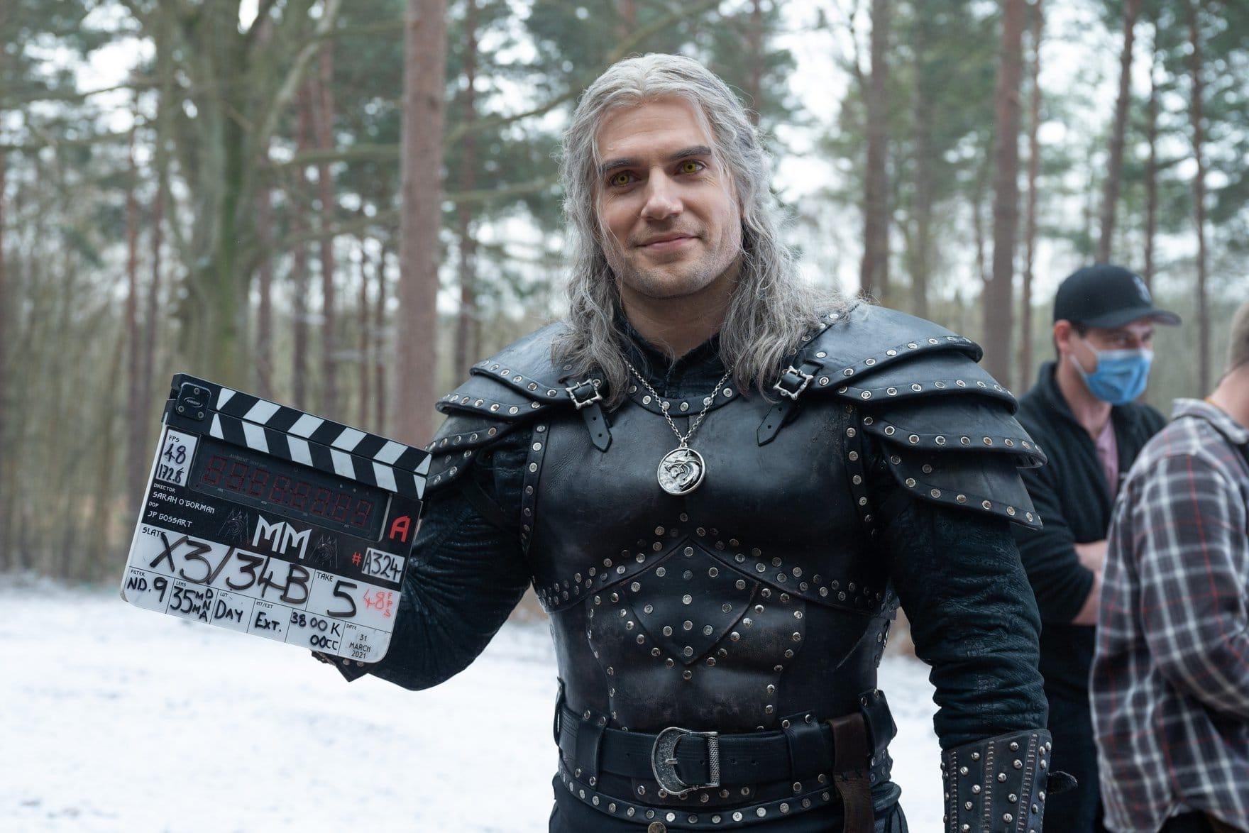 Henry Cavill e la fine delle riprese di The Witcher 2