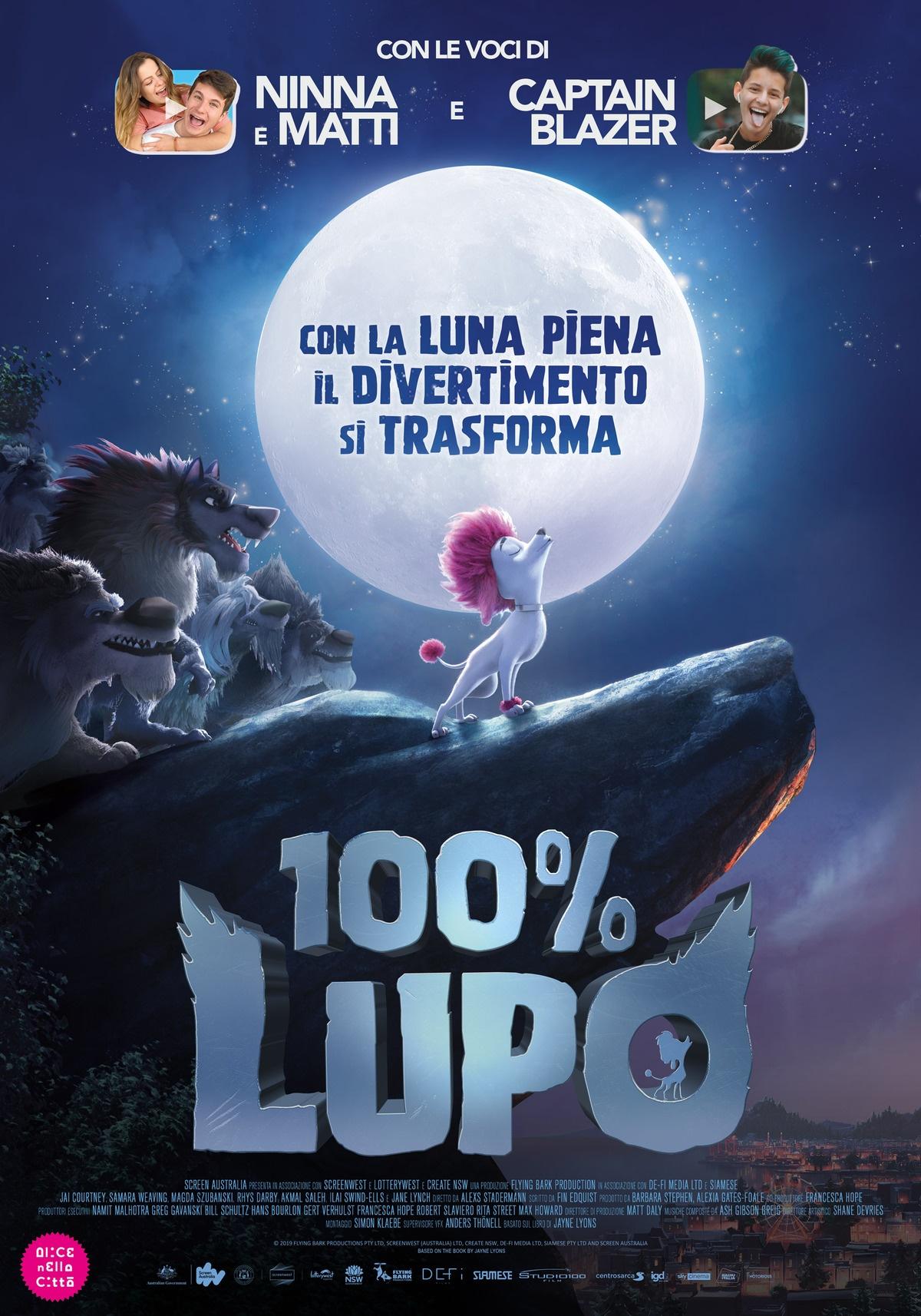 Film in uscita - 100% Lupo