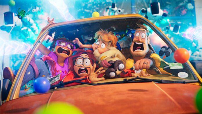 I Mitchell contro le macchine recensione film d'animazione Netflix