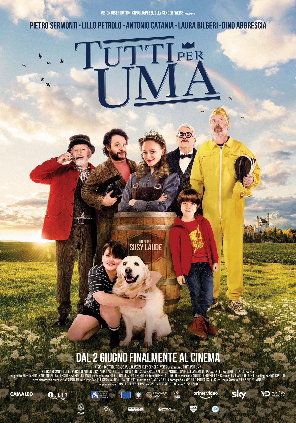 Film in uscita: Tutti per Uma