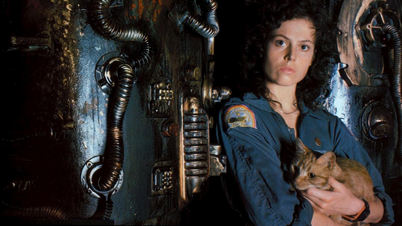 Sigourney Weaver nei panni di Ellen Ripley