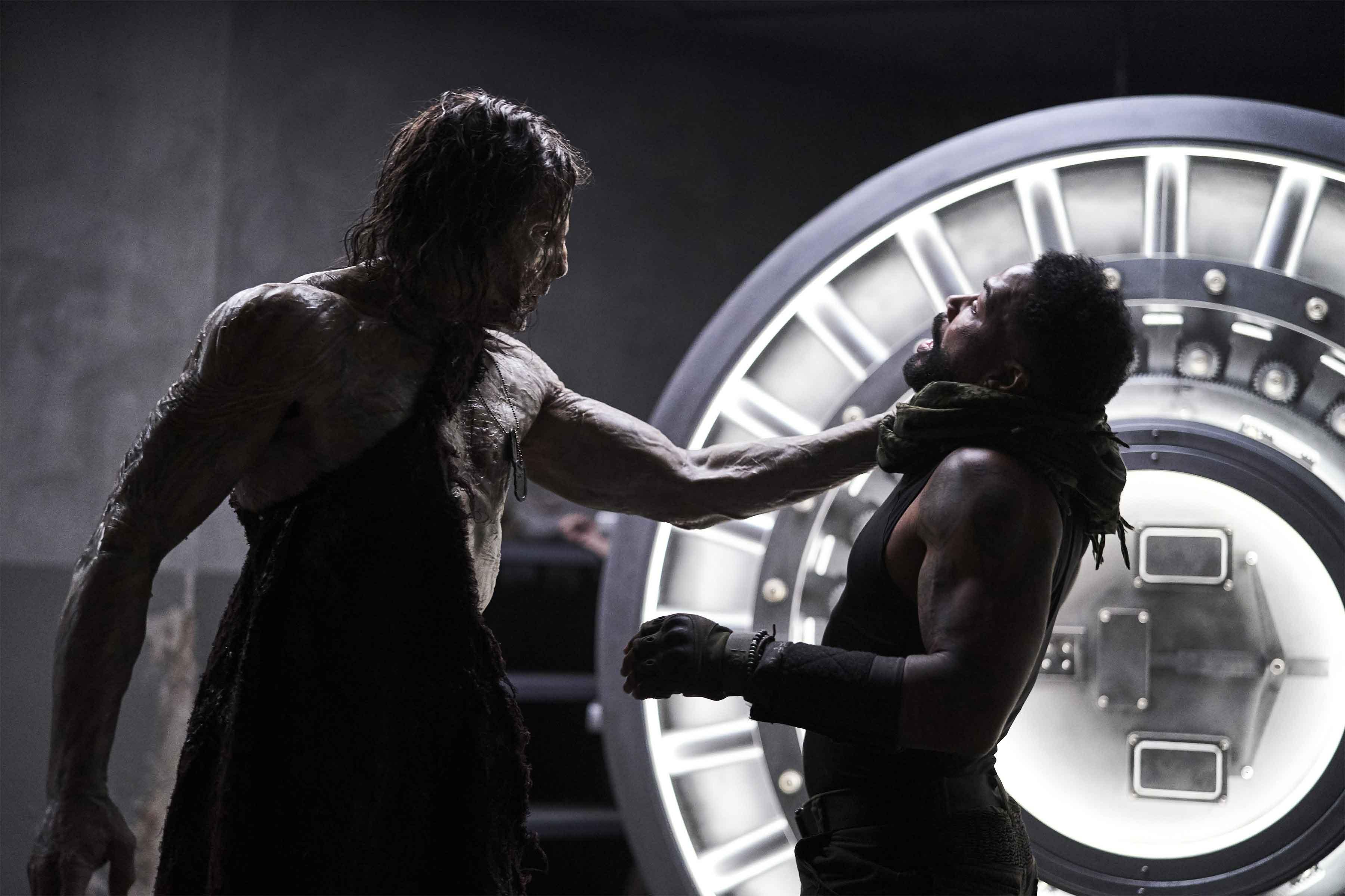 Lo zombie Alpha contro Omari Hardwick