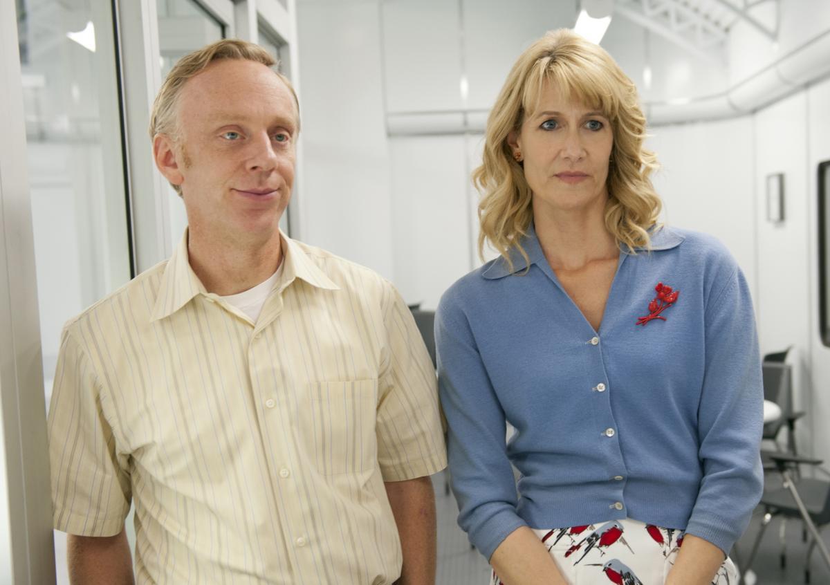 Mike White e Laura Dern