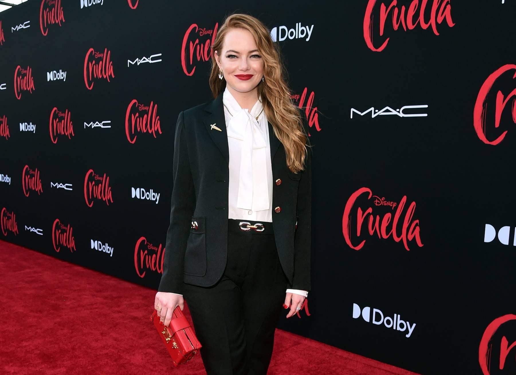 Emma Stone alla premiere di Los Angeles