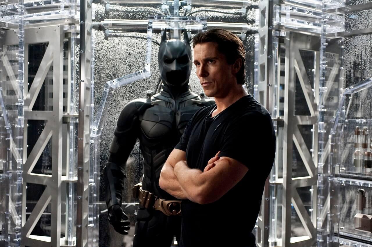 Christian Bale nei panni di Batman