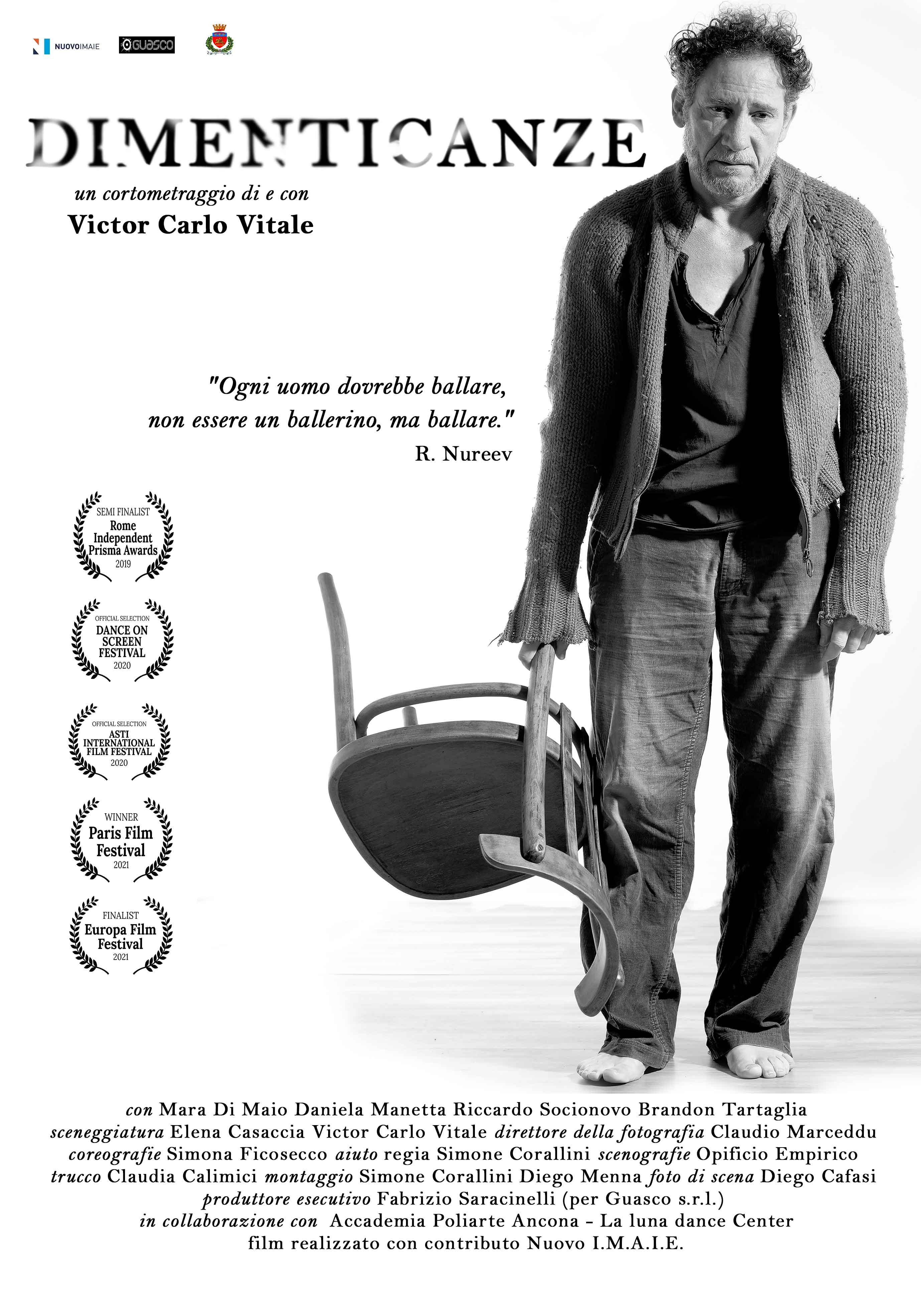 Dimenticanze recensione cortometraggio di Victor Carlo Vitale