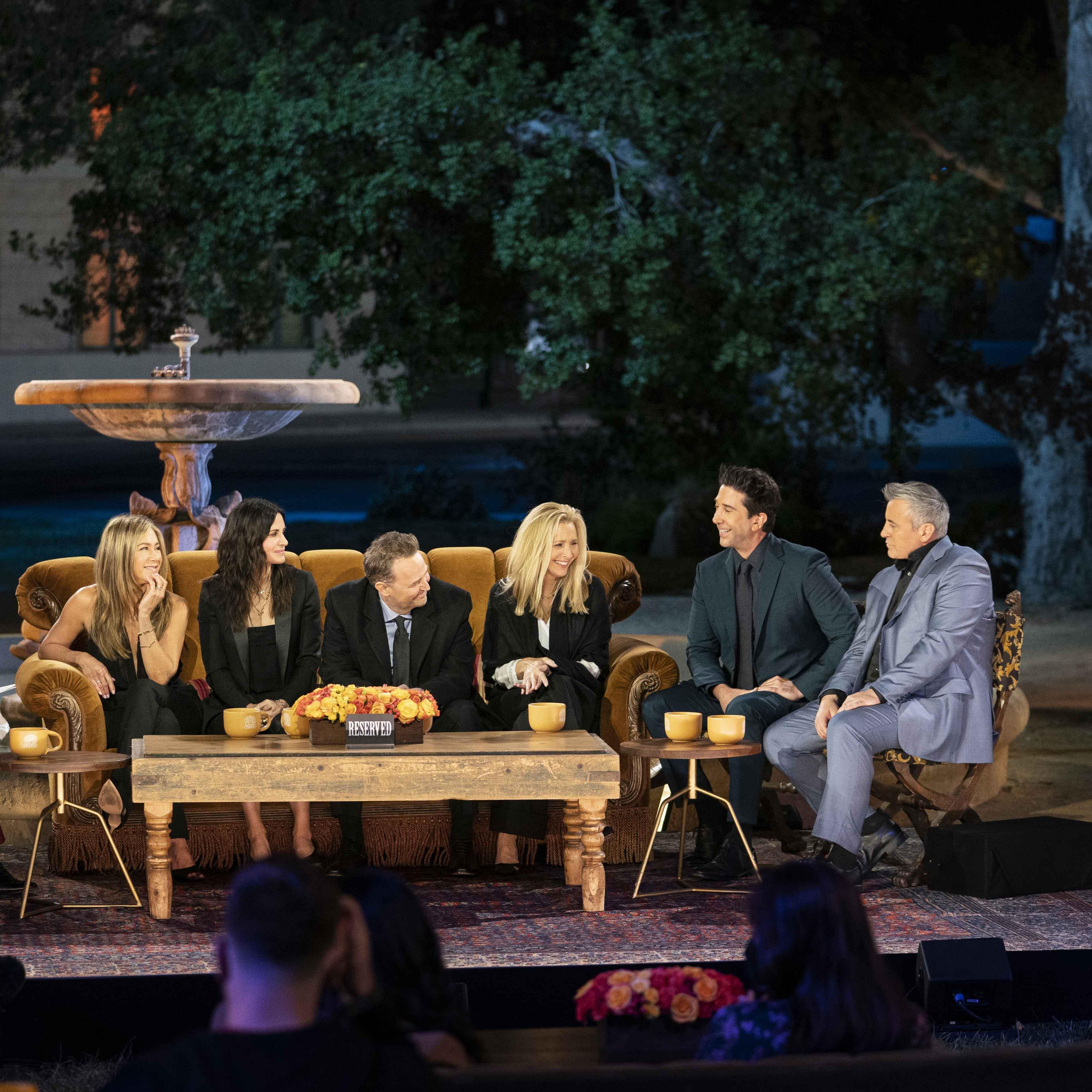 Jennifer Aniston, Courteney Cox, Matthew Perry, Lisa Kudrow, David Schwimmer e Matt LeBlanc