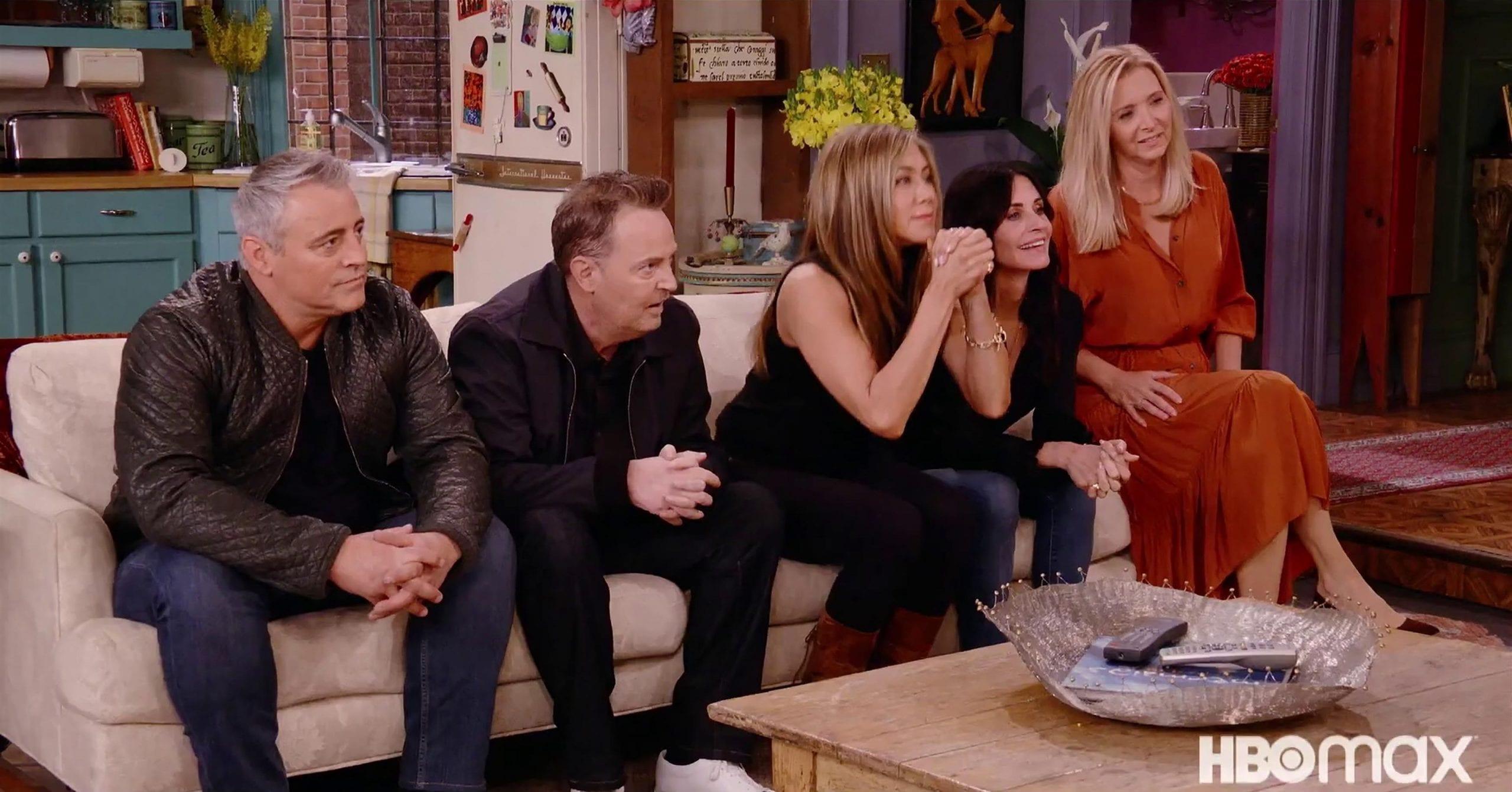 Friends: The Reunion recensione speciale Sky con Jennifer Aniston e Courteney Cox