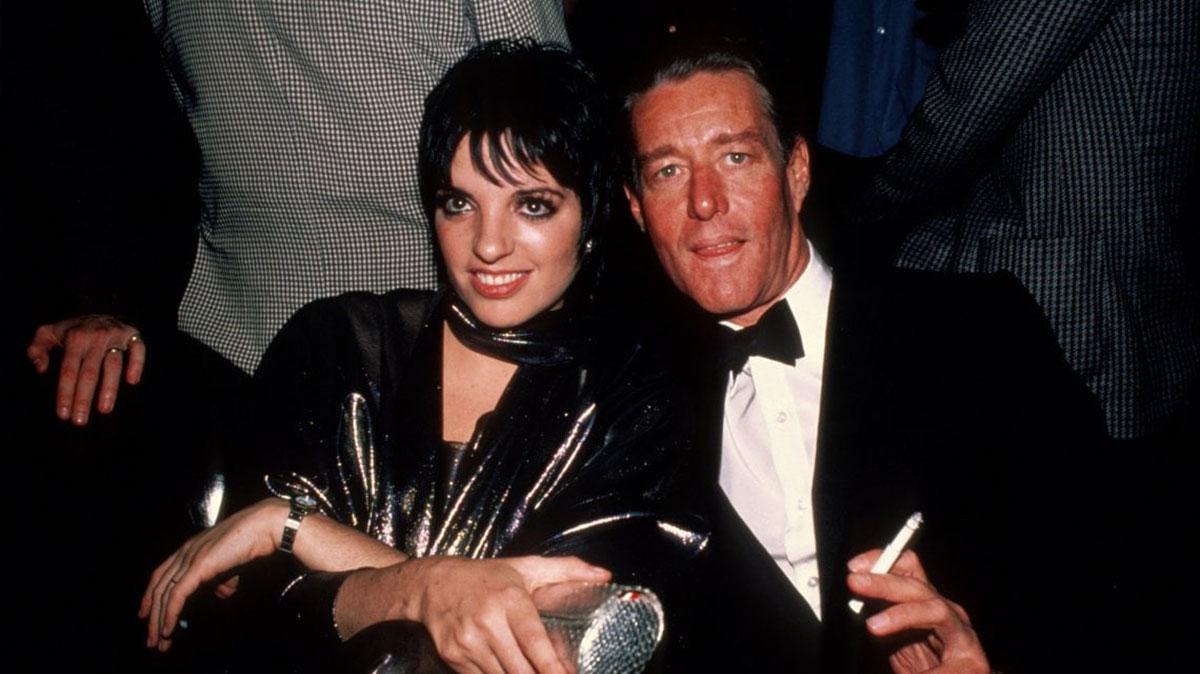 Liza Minelli e Roy Halston Frowick
