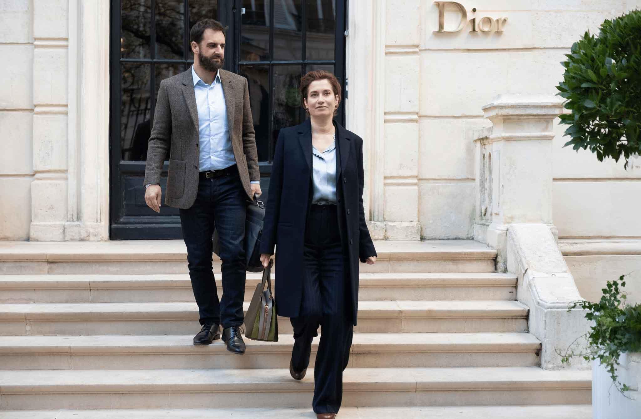 Emmanuelle Devos e Grégory Montel