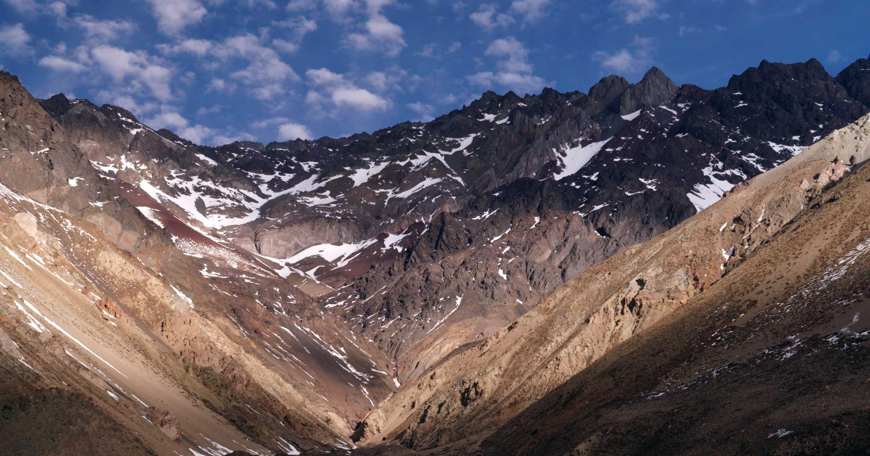 La cordigliera delle Ande