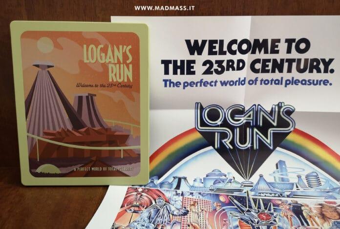 La fuga di Logan Blu-ray recensione dell'edizione Steelbook con Poster da collezione