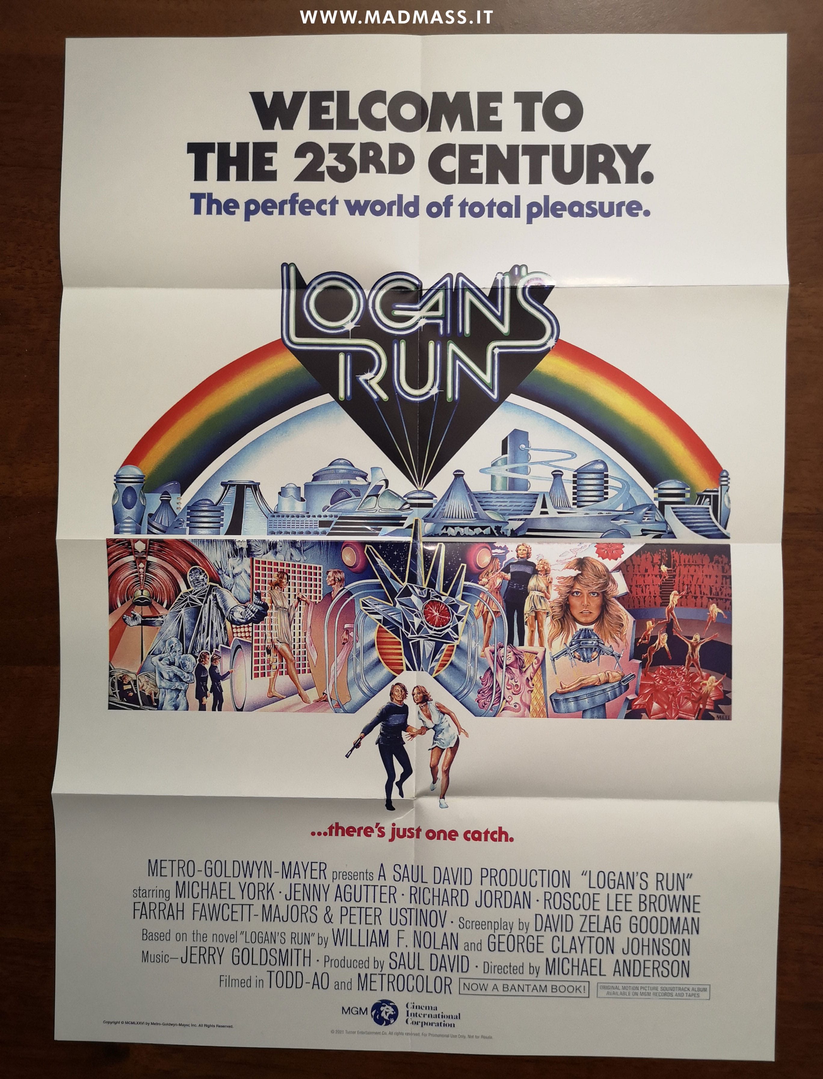 Il poster originale contenuto nella Steelbook
